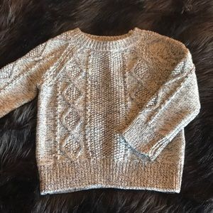 Gap boys 18-24 months chunky knit marled sweater